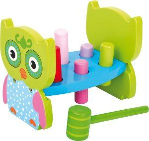 Zatĺkačky hračka ny rozvoj jemnej motoriky