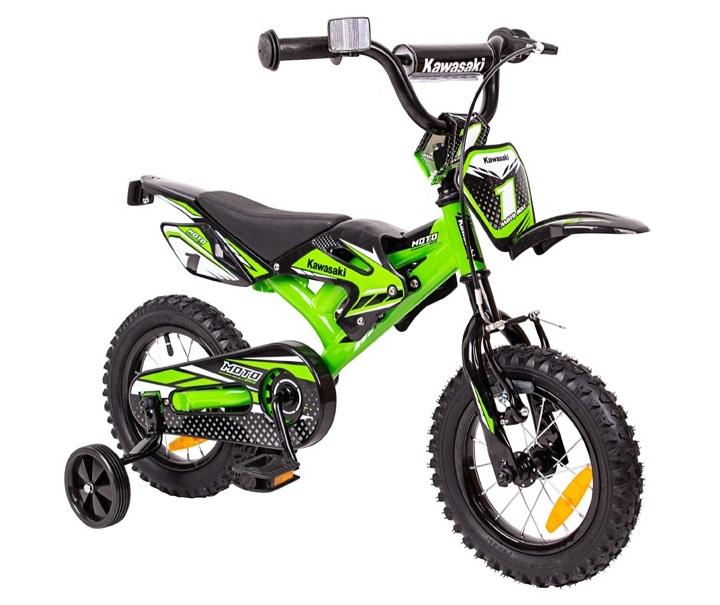 TOP detský bicykel 12 Kawasaki