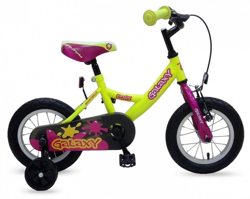 Galaxy Fénix bicykle pre deti od 3 rokov