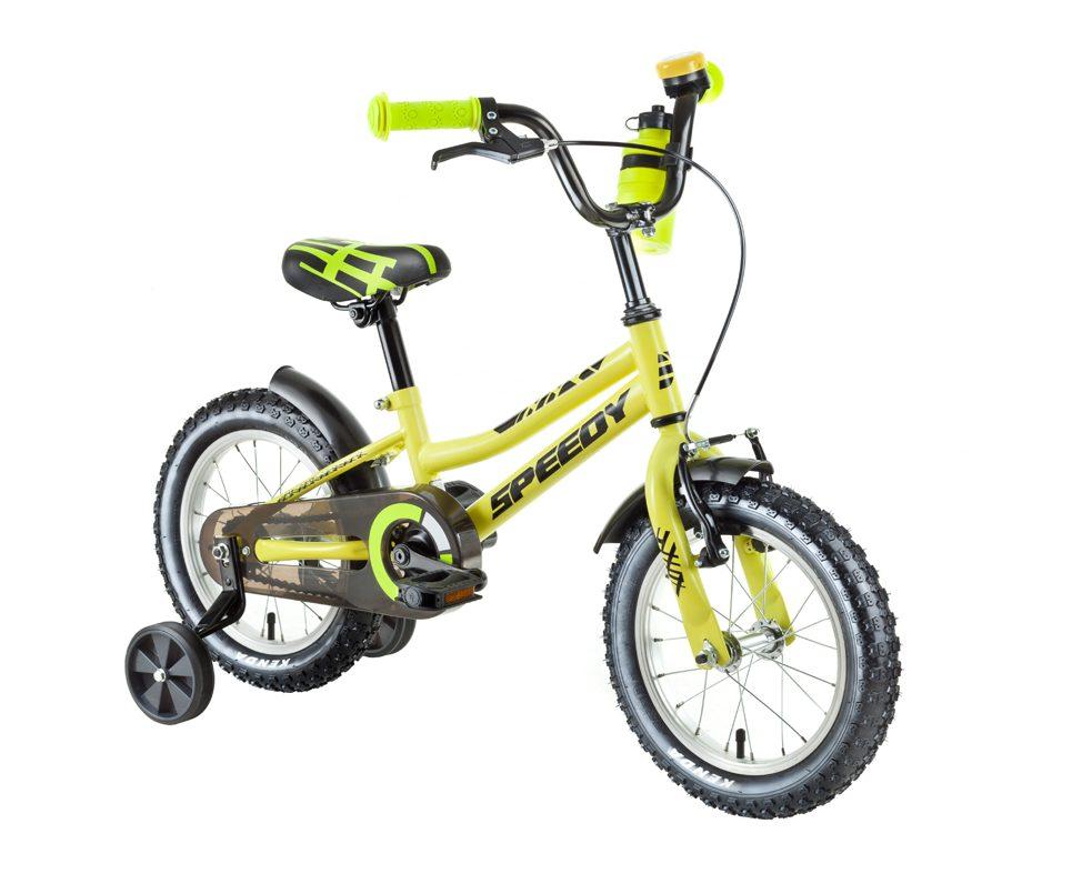 Štýlový Speedy bicykel pre deti od 4 rokov