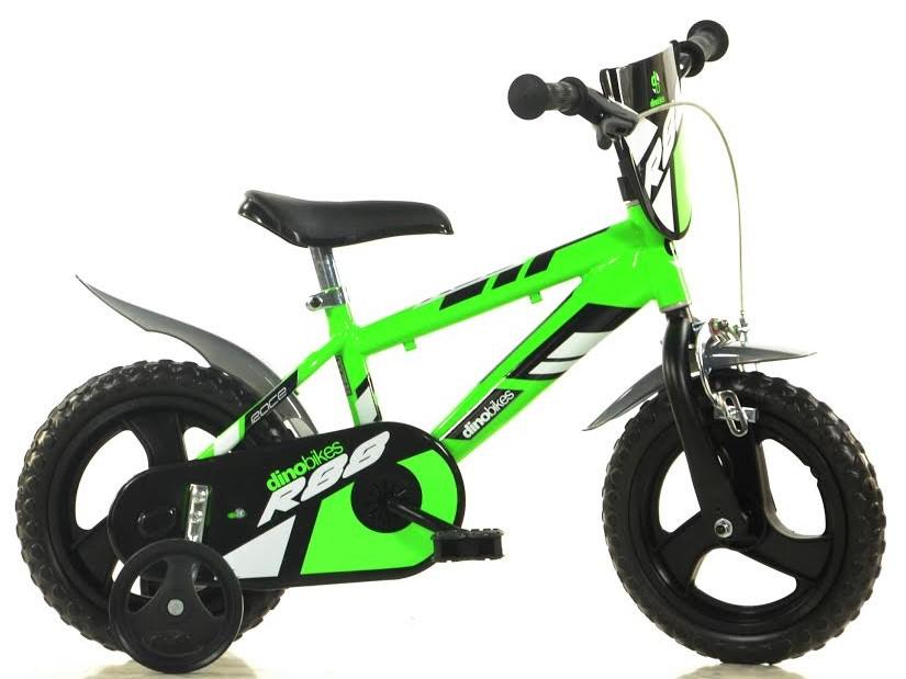 Dino Bikes bicykel pre deti 12 zelený