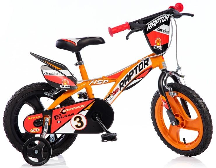Dino Bikes 14 palcové bicykle pre deti