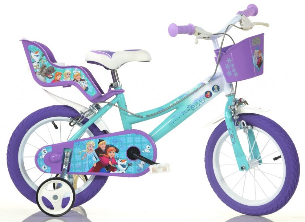 Frozen bicykel pre deti od 4 rokov