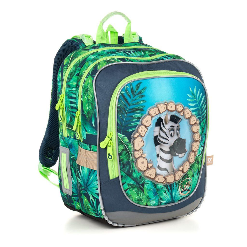 Topgal skvelá školská taška pre prváka