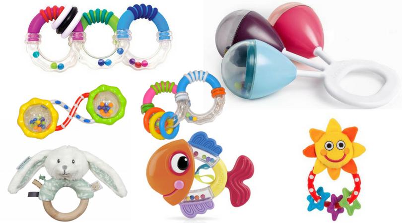 Hrkálky prvé hračky pre deti do jedného roka
