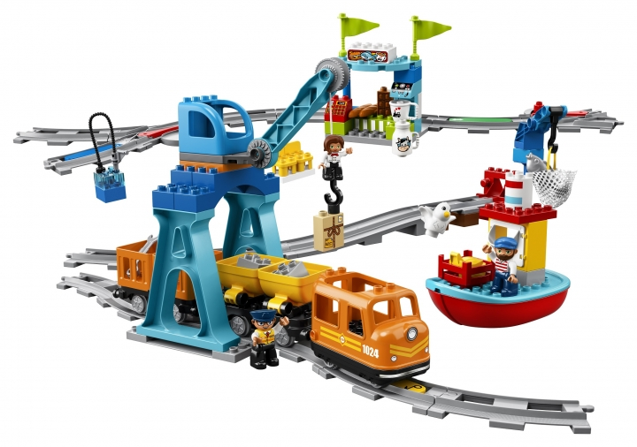 Nákladný vlak kocky Lego Duplo
