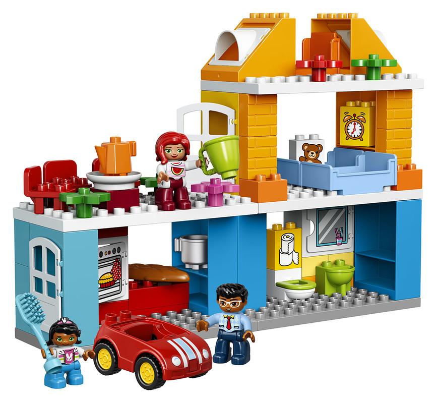 Kocky Lego Duplo Rodinný dom