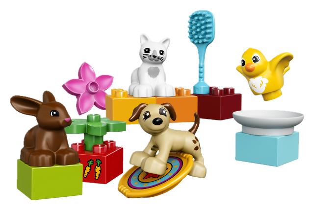 Kocky Lego Duplo zvieratká