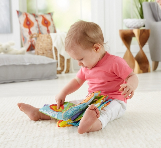 Mäkké knižky hračky pre deti do jedného roka