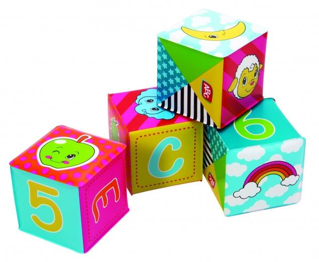 Mäkké kocky najlepšie hračky pre deti do jedného roka