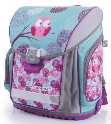 Pevná školská taška pre prváka