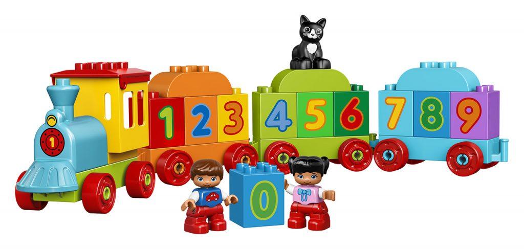 Kocky Lego Duplo Vláčik s číslami