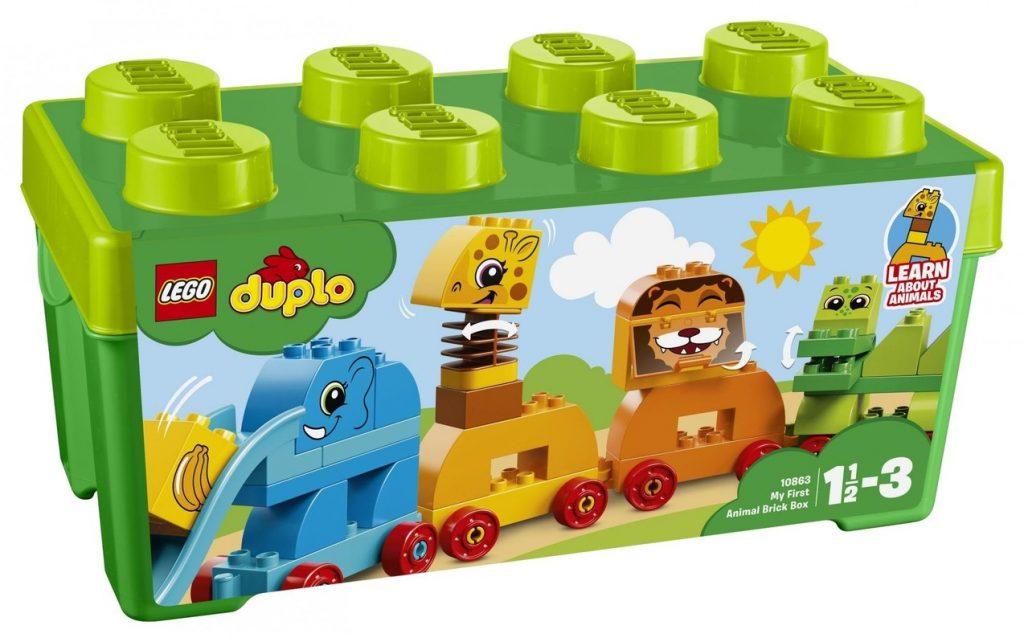Kocky Lego Duplo Moje prvé zvieratká v boxe