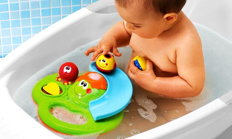 Interaktívne hračky do vane