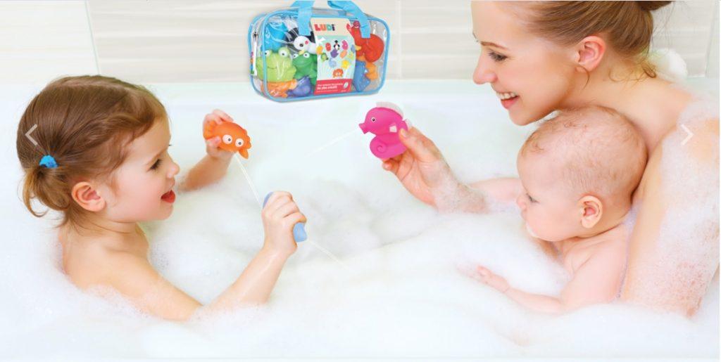 Gumové hračky do vane pre najmenších