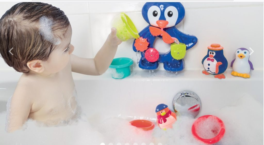Ludi hračky do vane