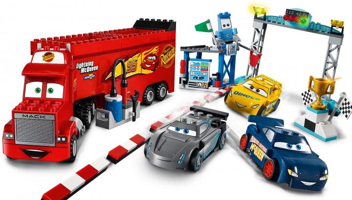 Detská stavebnica Lego Junior Preteky