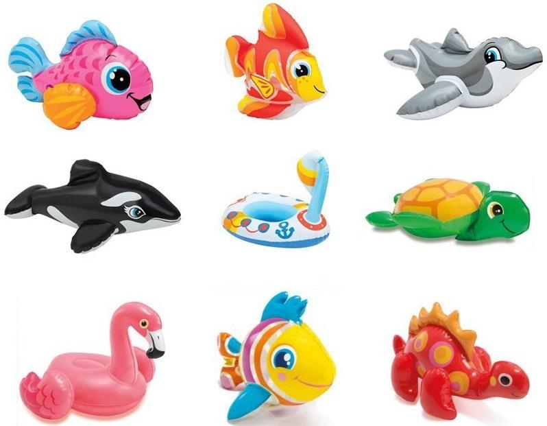 Intex nafukovacie hračky do vane