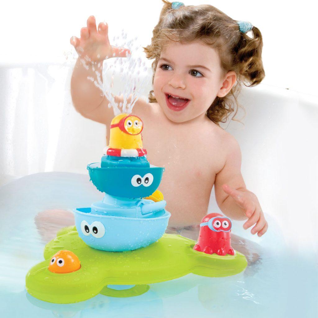 Hračky do vane Yookidoo fontána
