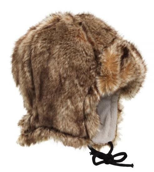 Zimná čiapka pre deti z kožušiny