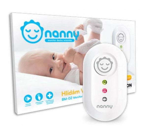 Detský monitor dychu Nanny BM02