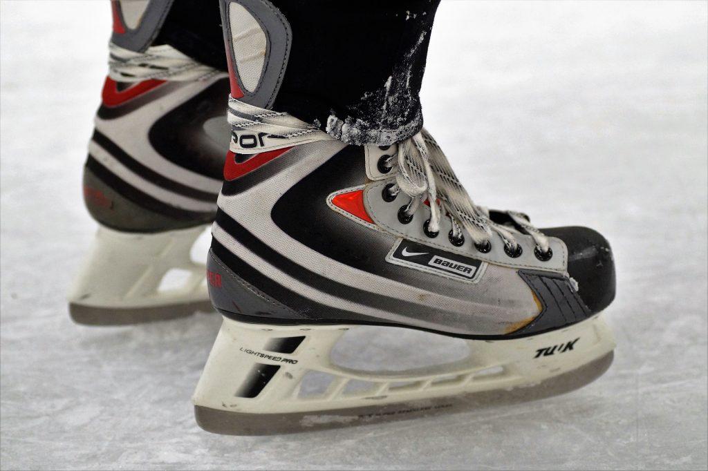 Hokejové detské korčule na ľad