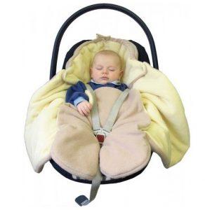 Čo obliecť novorodencovi v zime do autosedačky