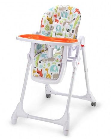 Polohovacie jedálenské stoličky pre deti Petit Mars