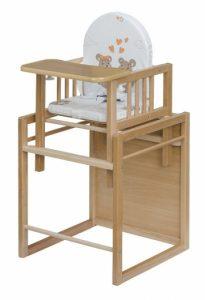 drevené jedálenské stoličky pre deti Cosing buková