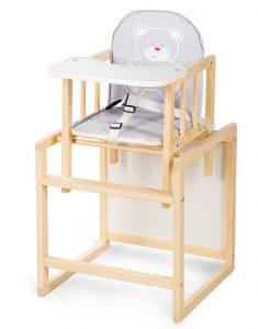 Drevené jedálenské stoličky pre deti aga