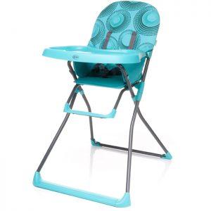 Jedálenské stoličky pre deti 4baby Flower tyrkys