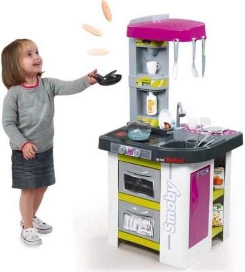 Elektronická Smoby kuchynka Tefal Studio Bubble hodnotenie