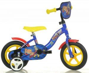 Detský bicykel 10 Dino Bikes Požiarnik Sam