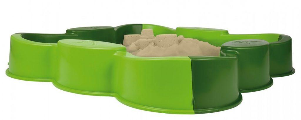 Big plastové pieskovisko pre deti štvorlístok Vario