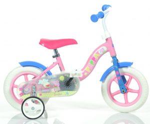 Detský bicykel 10 Dino Bikes Peppa Pig
