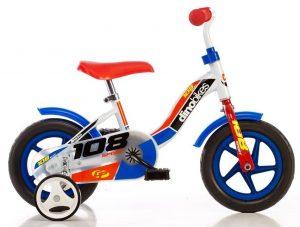Prvý bicykel 10 Dino Bikes pre chlapca
