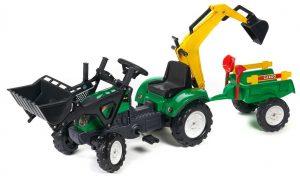 Kvalitný šliapací traktor Falk Ranch