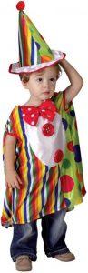 Detská maska na karneval šašo