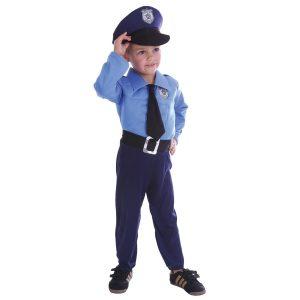 Chlapčenská maska na karneval Policajt
