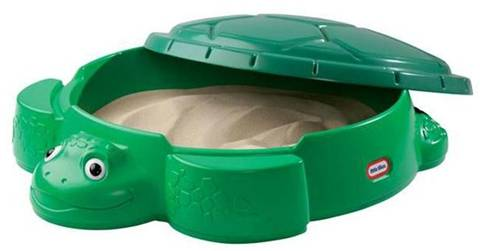 Little Tikes plastové pieskovisko pre deti Korytnačka