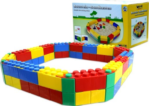Wader plastové pieskovisko pre deti z kociek