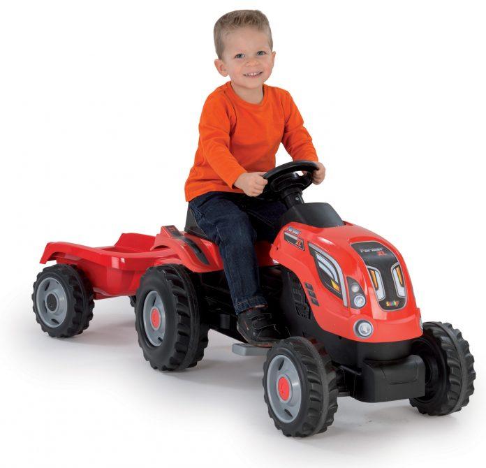 Smoby detský traktor Farmer XL recenzia