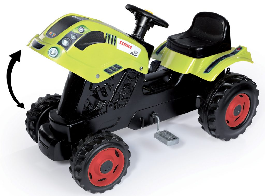 Šliapací traktor Smoby Class zelený
