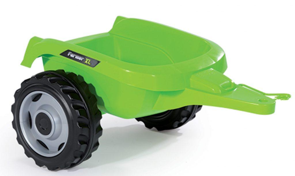 Smoby detský traktor Farmer XL s vlečkou