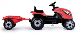 Smoby detský traktor Farmer XL červený