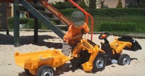 Detský traktor Smoby veľký