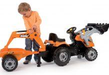 Traktor Smoby Max Builder recenzia