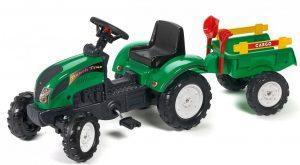 šliapací traktor Falk pre malé ranch track