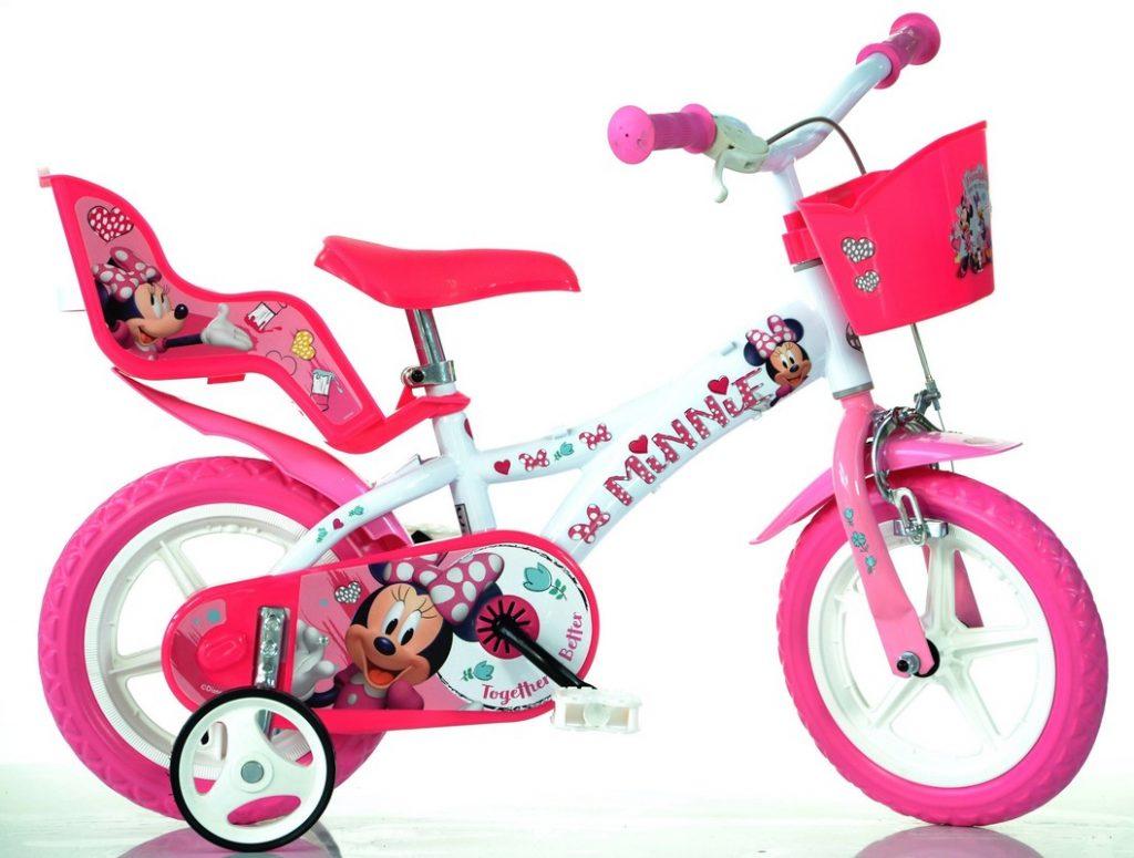 Dievčenský bicykel 12 ružový