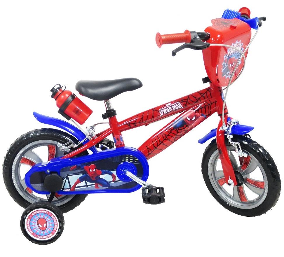 Spiderman prvý detský bicykel 12